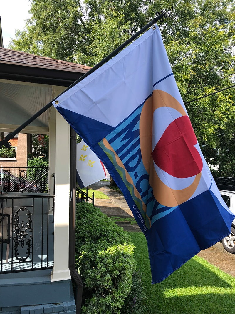 Mid-City Flag
