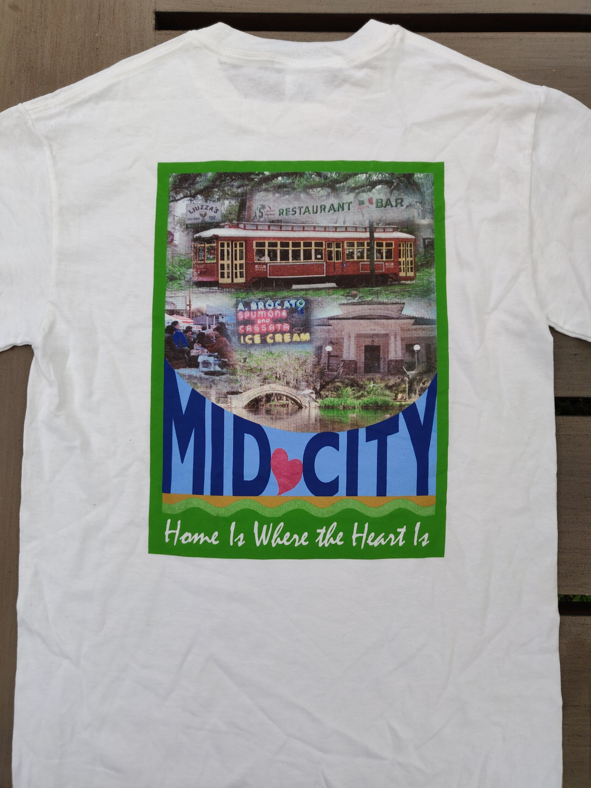 Mid-City T-Shirt back